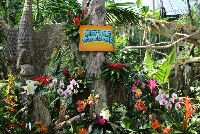 Reptile Gardens botanical gardens