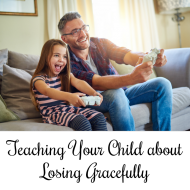 Teaching Your Child about Losing Gracefully