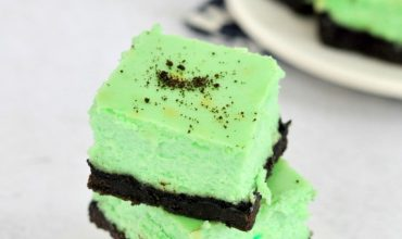 Mint Cheesecake Bars Recipe