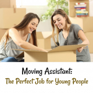 Moving Assistant: The Perfect Job for Young People