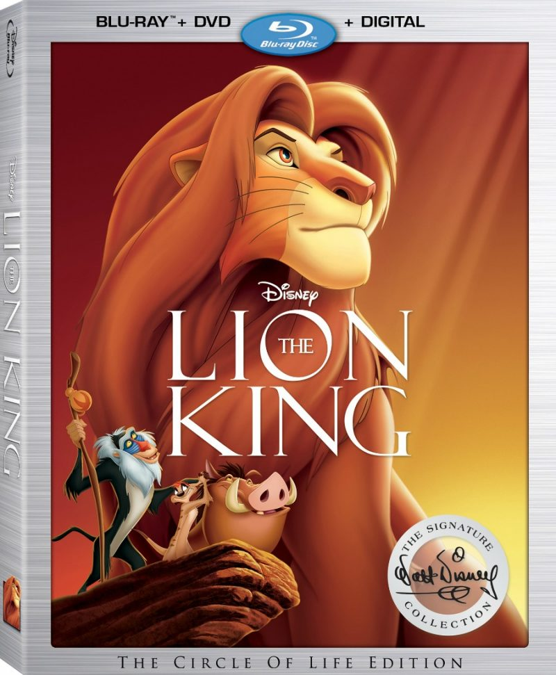 Disney's The Lion King is Back, Get It on Blu-ray Today!