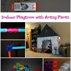 Indoor Playtime with Antsy Pants Build and Play Kit