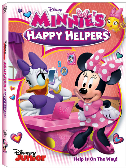 Minnie's Happy Helpers DVD Disney Giveaway + Free Activity Games