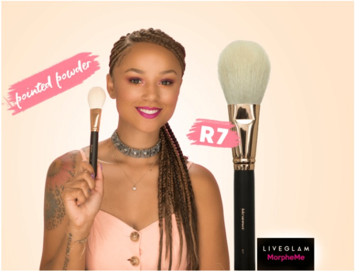 R7 – Deluxe Pointed Powder Brush