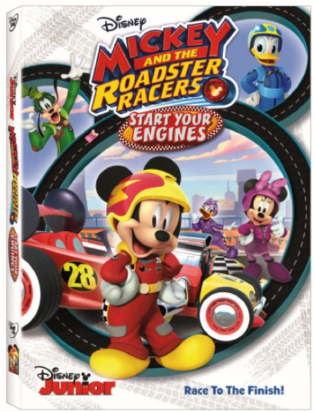 Mickey and the Roadster Racers: Start Your Engines on Disney DVD today!