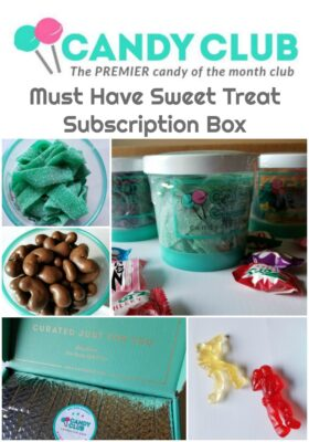 Candy Club Review: Must Have Sweet Treat Subscription Box