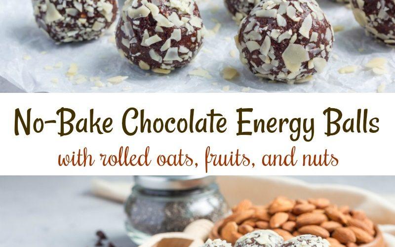 No-Bake Chocolate Energy Balls Recipe