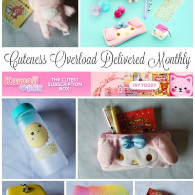 Kawaii Box is Cuteness Overload Delivered Monthly + Giveaway