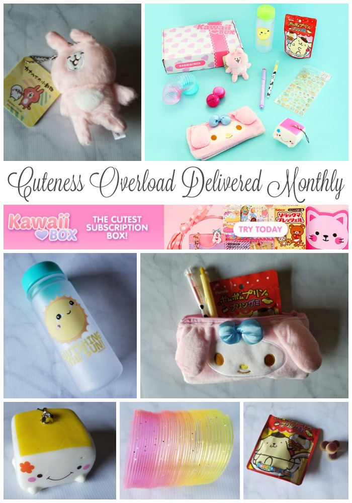 Kawaii Box is Cuteness Overload Delivered Monthly