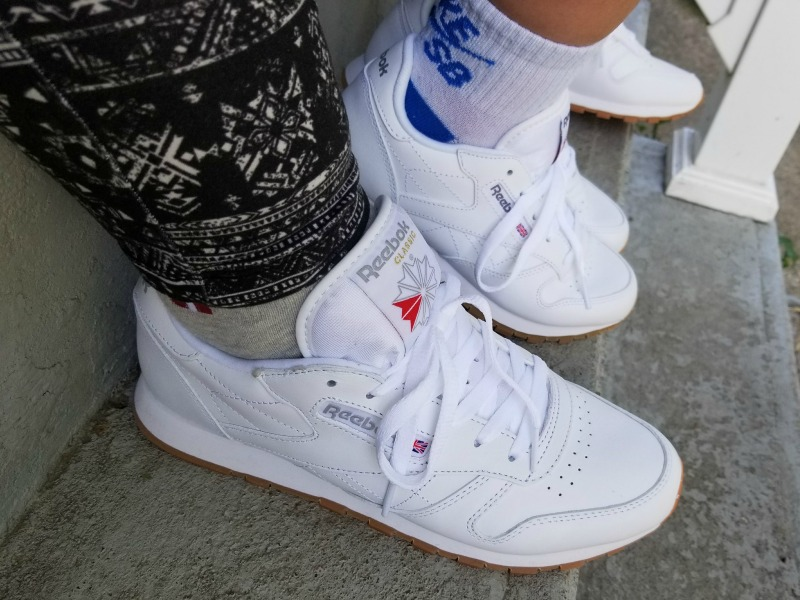 Back to School in Style with Reebok Classic Leather #thisISclassic