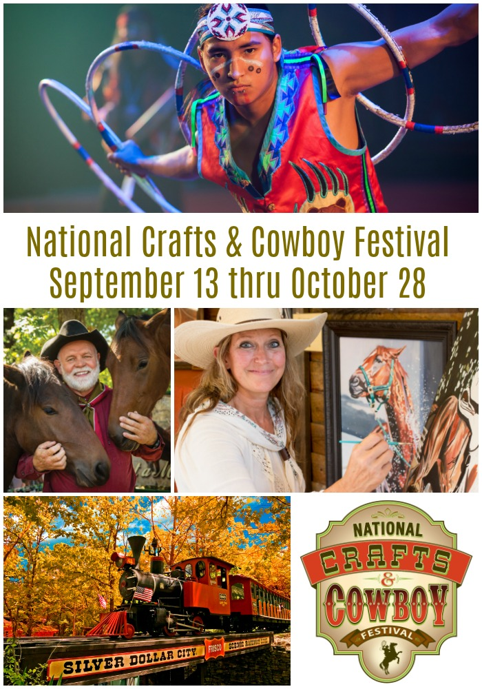 silver dollar city national crafts cowboy festival