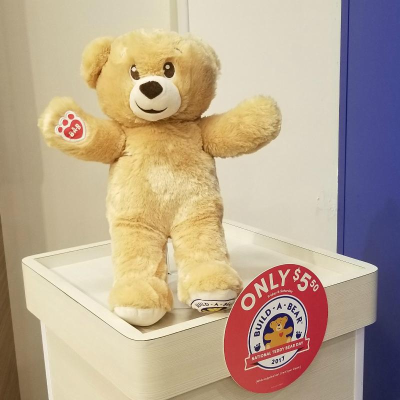 Build A Bear National Teddy Bear Day Bear