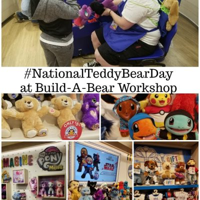 #NationalTeddyBearDay at Build-A-Bear Workshop + $100 Build-A-Bear Workshop Gift Card Giveaway!
