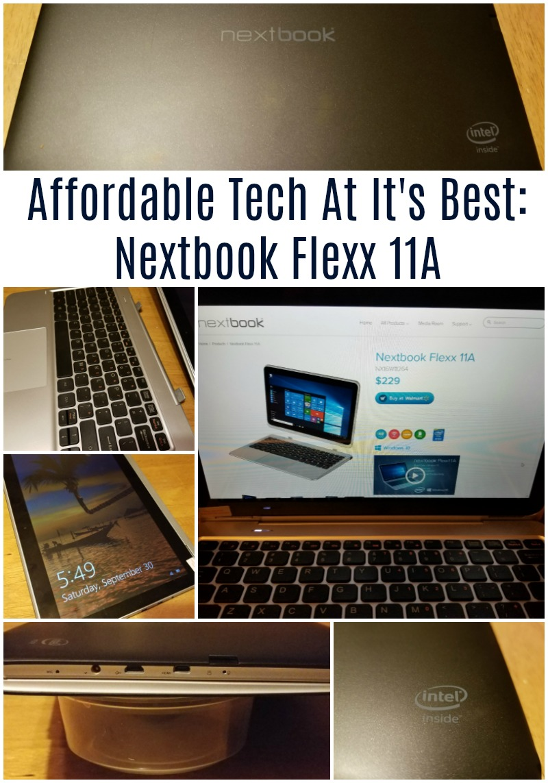 Affordable Tech At It's Best: Nextbook Flexx 11A Review + Giveaway