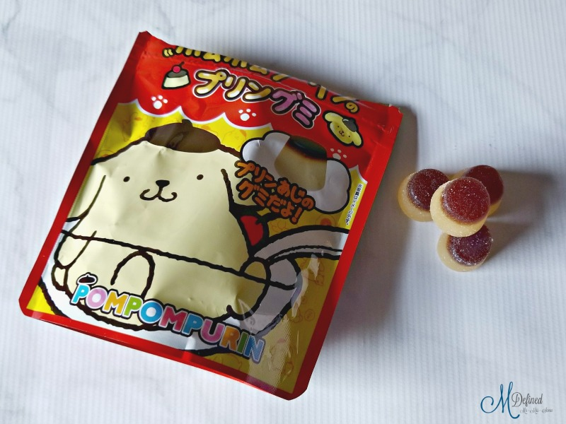 Kawaii Box Pompompurin Pudding Gummies