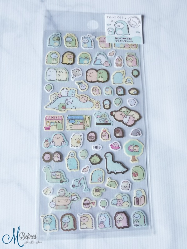 Kawaii Box Sumikko Gurashi Stickers