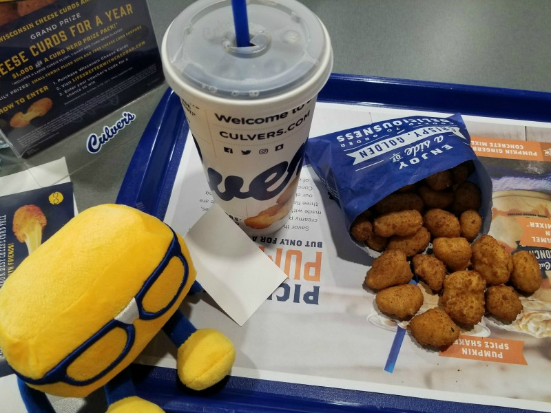 Celebrating National Cheese Curd Day with Culver's