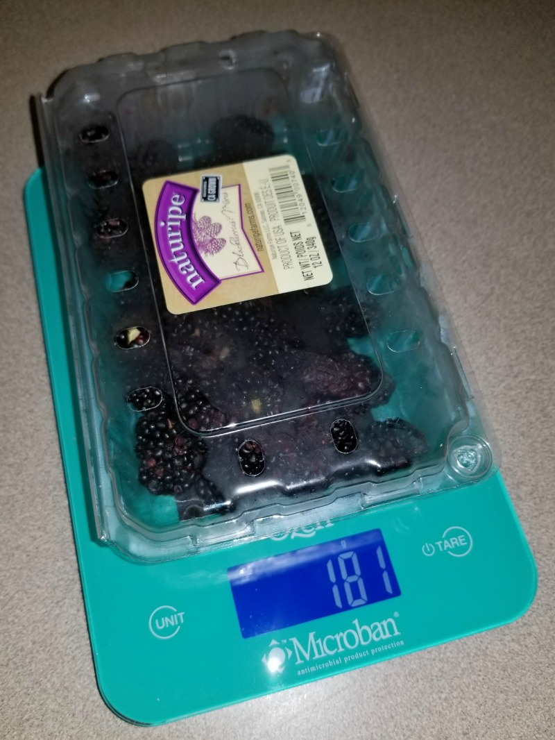 Kitchen Must Haves: Ozeri Touch II Digital Kitchen Scale Review