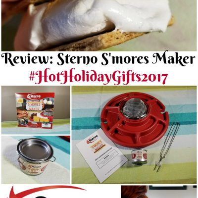 Review: Sterno S'Mores Maker #HotHolidayGifts2017