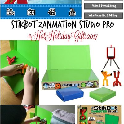 Best Toys for Boys: Stikbot Studio Pro #HotHolidayGifts2017
