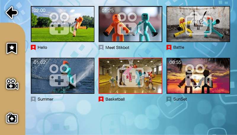 The Stikbot Studio app