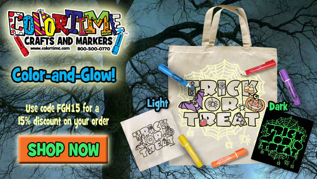 Save 15% off Colortime Crafts and Markers