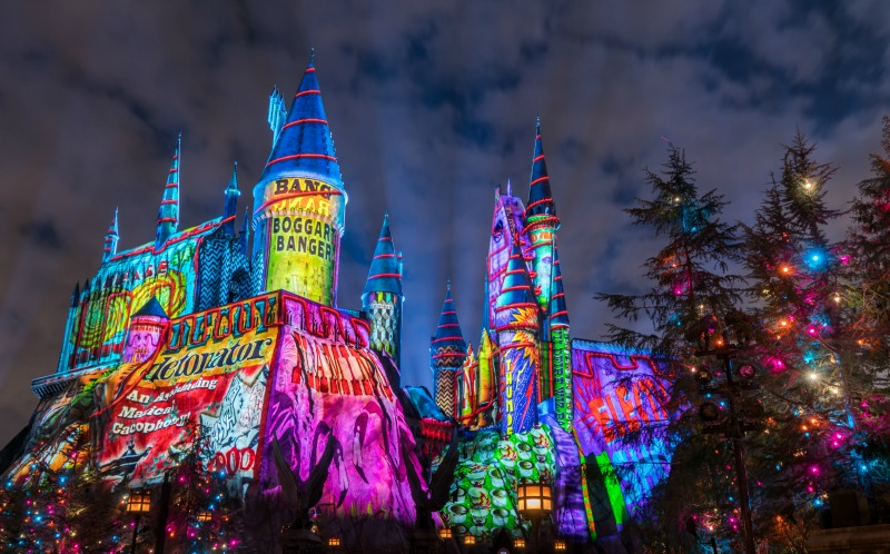 Holidays at The Wizarding World of Harry Potter