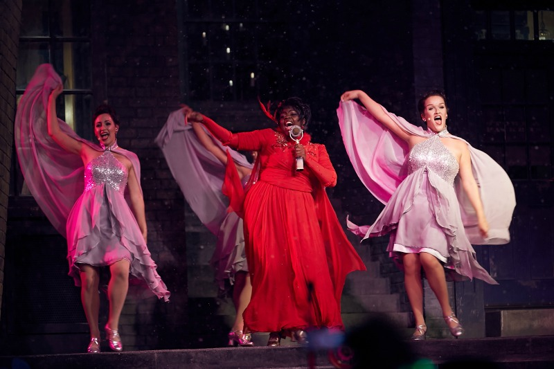 Celestina Warbeck and the Banshees at Diagon Alley
