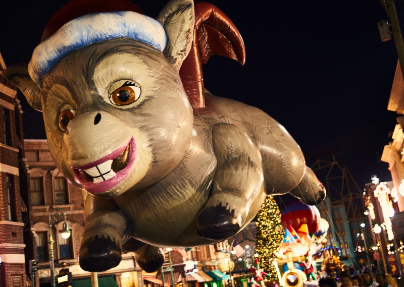 Universal's Holidays Parade featuring Macy's