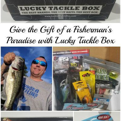 Give the Gift of a Fisherman's Paradise with Lucky Tackle Box