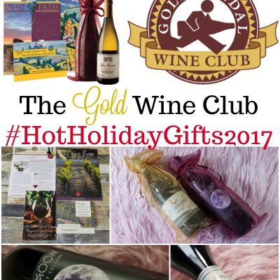 Review: Gold Medal Wine Club #HotHolidayGifts2017
