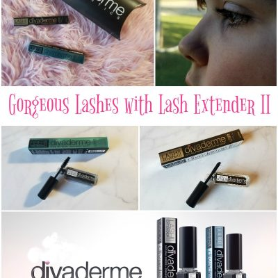 Divaderme Cosmetics Delivers Gorgeous Lashes with Lash Extender II