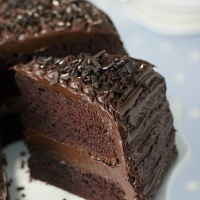 Rice's Lucky Clover Honey Chocolate Cake