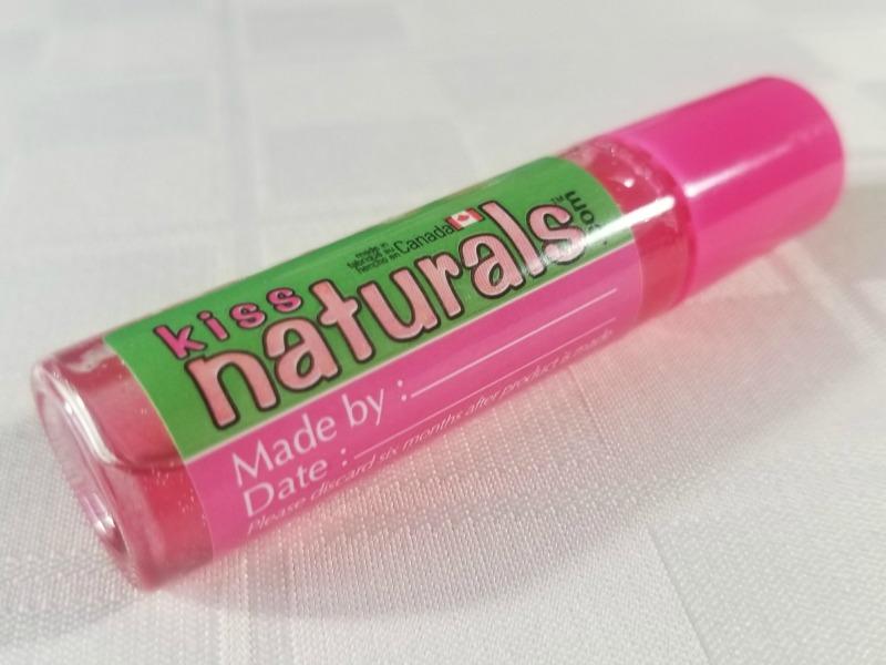 Kiss Naturals Lava Lip Gloss DIY Kit #HotHolidayGifts2017