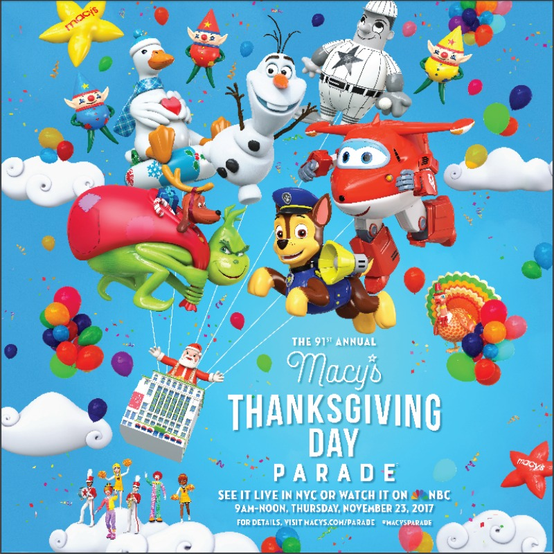 Wake up with Macy's Thanksgiving Day Parade!