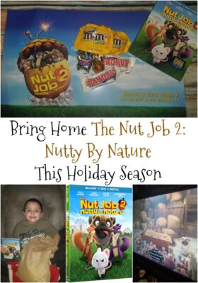 Bring Home The Nut Job 2: Nutty By Nature This Holiday Season + Recipes & Giveaway