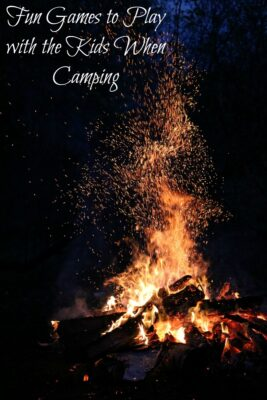 Fun Games to Play with the Kids When Camping