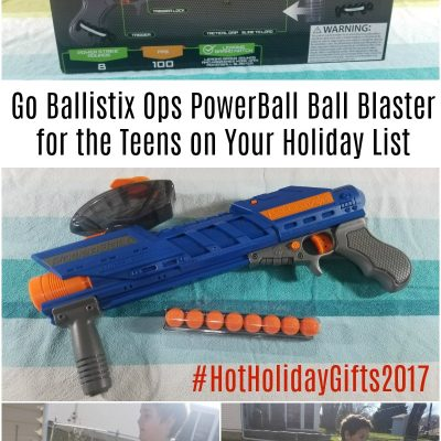 Go Ballistix Ops PowerBall Ball Blaster for the Teens on Your Holiday List
