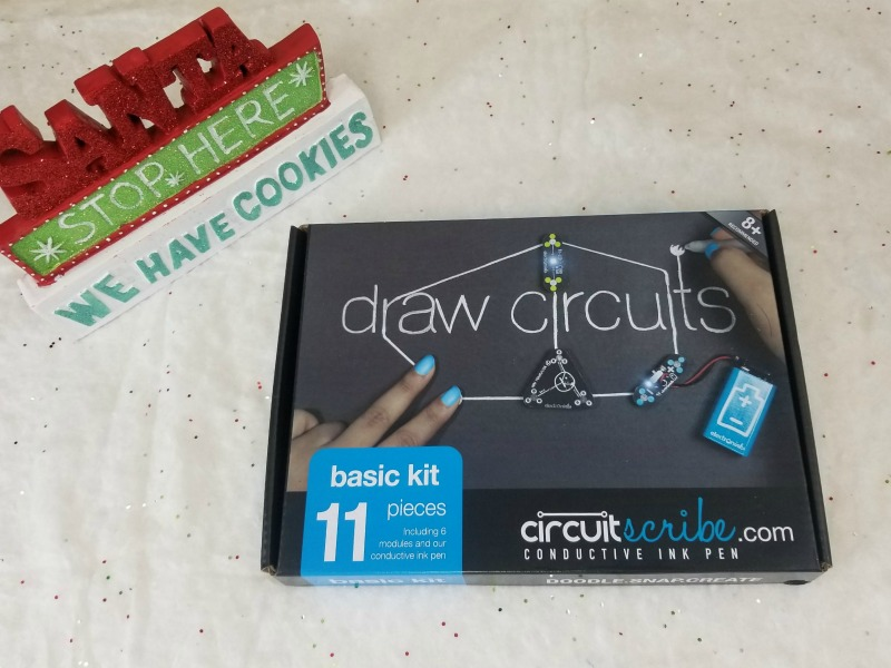 Homeschooling STEM Through Winter Break, Circuit Scribe Style #HotHolidayGifts2017