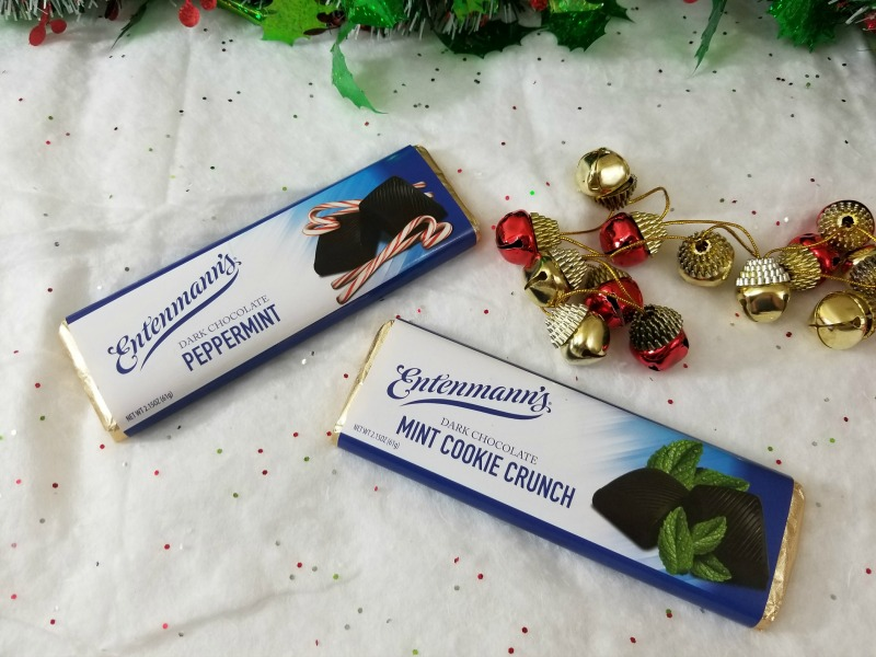 Entenmann's Mint Cookie Crunch and Entenmann's Peppermint Bar #HotHolidayGifts2017