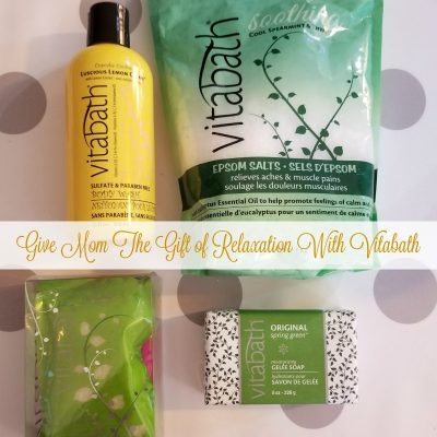 Give Mom The Gift of Relaxation With Vitabath + Giveaway