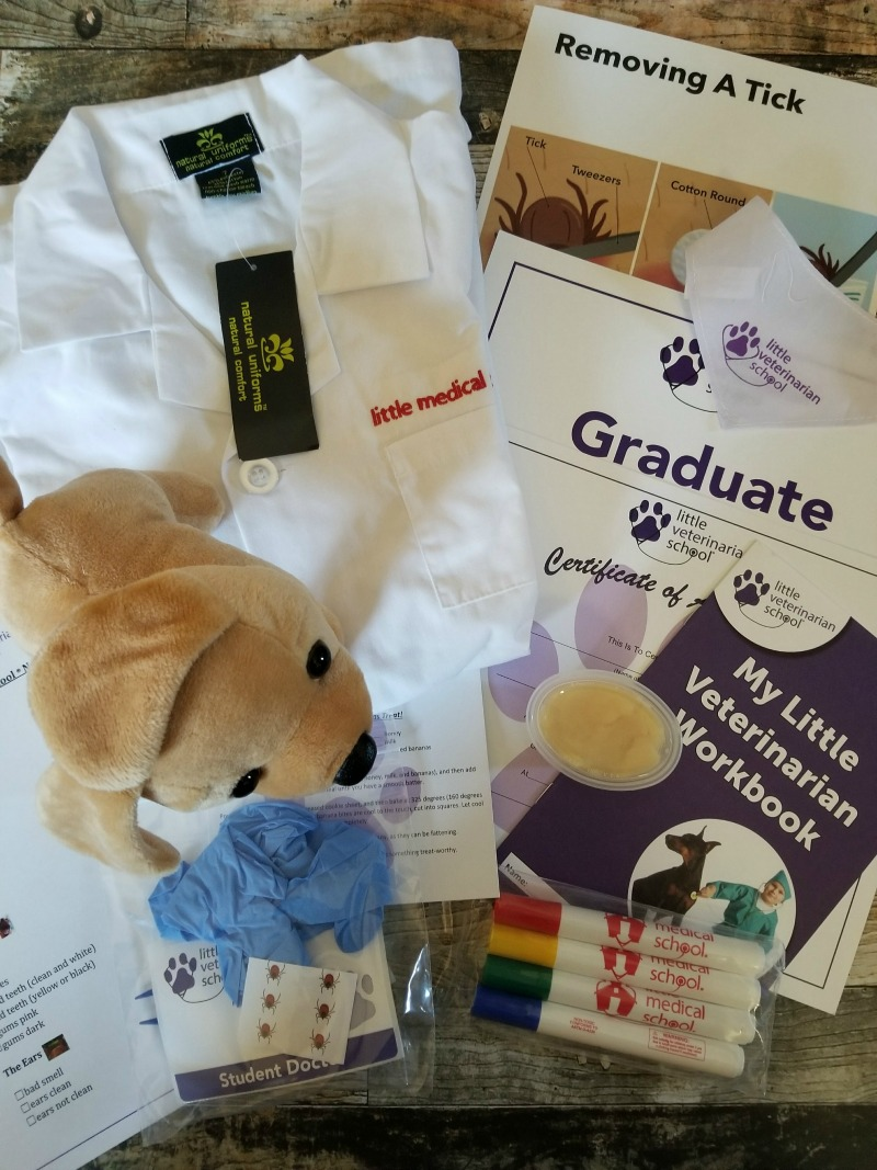 Little Medical School Veterinarian Kit for the Mini Doctor in the Family + Giveaway