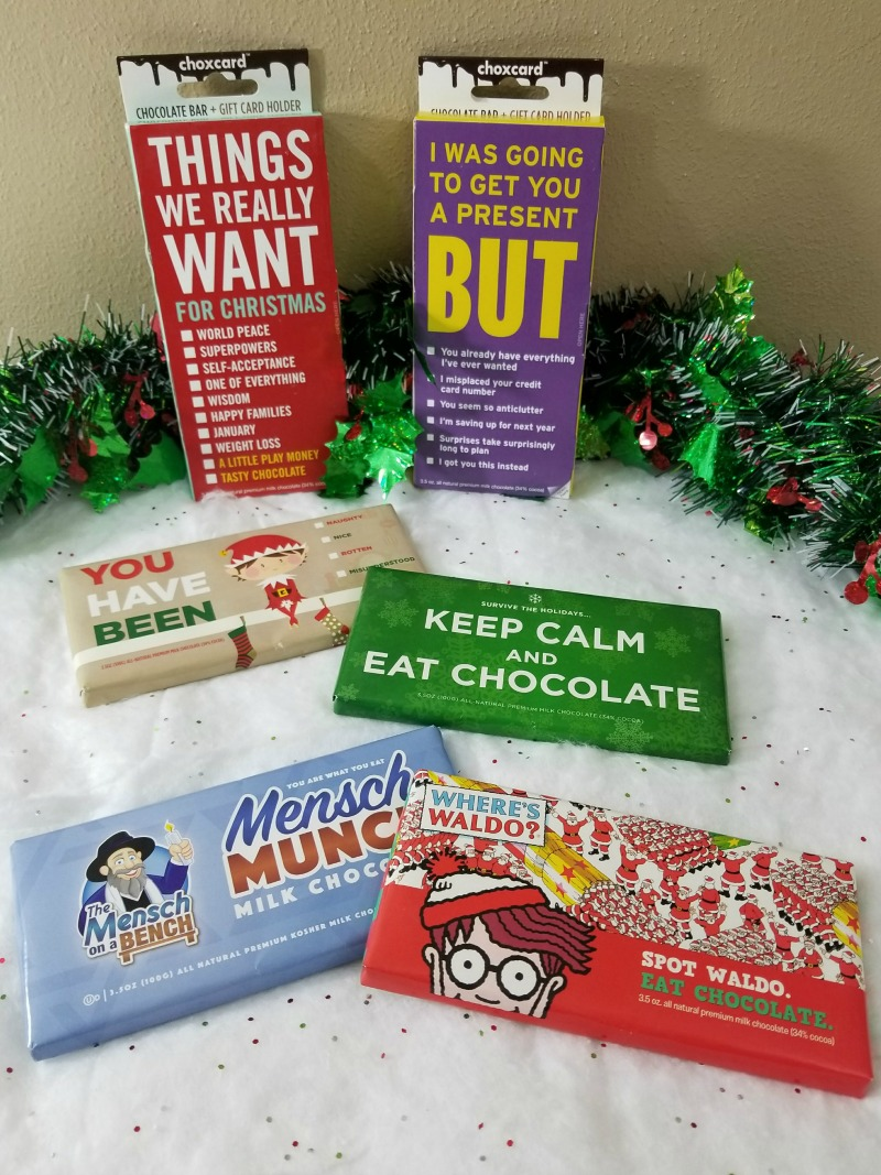 Give Me the Chocolate and No One Gets the Coal + Giveaway