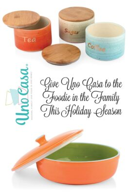 Give Uno Casa to the Foodie in the Family This Holiday Season + Giveaway