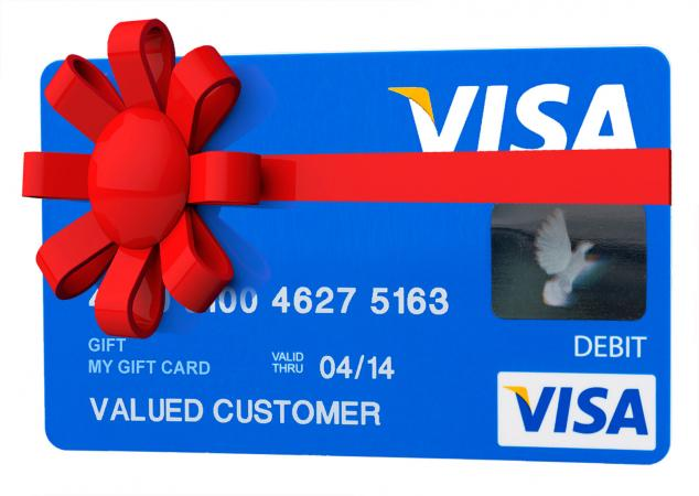 how to get cash off a visa gift card