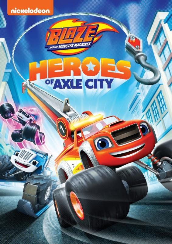 Available Tomorrow on DVD, Blaze and the Monster Machines: Heroes of Axle City