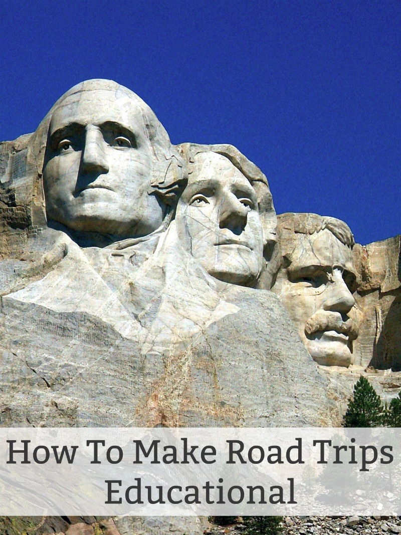 How To Make Road Trips Educational