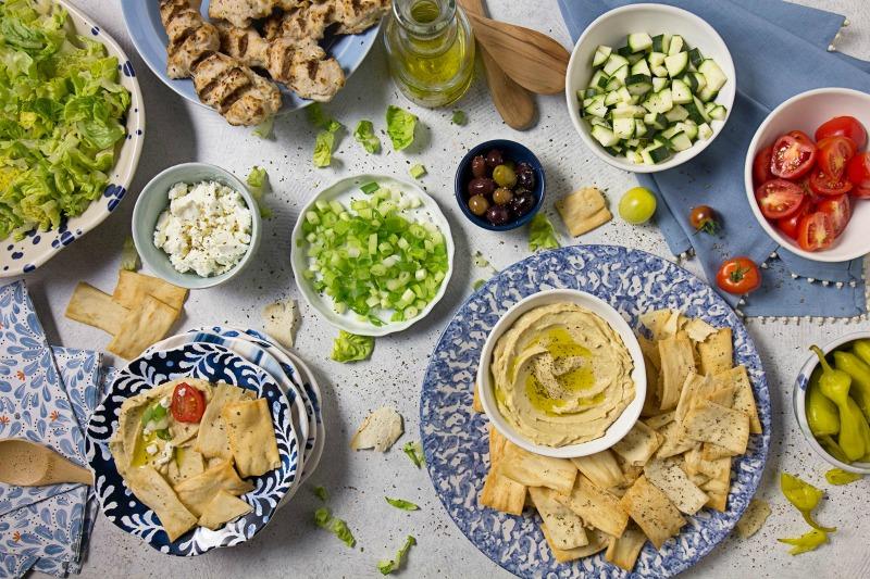 Mediterranean Nacho Bar Recipe