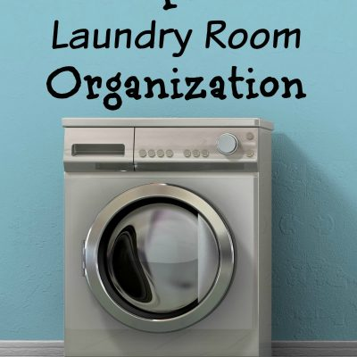 7 Tips For Laundry Room Organization