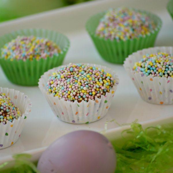 3 Ingredient Easter Chocolate Truffles